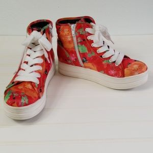 Rocket Dog High Top Sneakers Size 8M